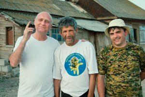 Слева направо: Э. Эльдаров, В. Амиров, Р. Бархалов (фото В. Мосейкина).