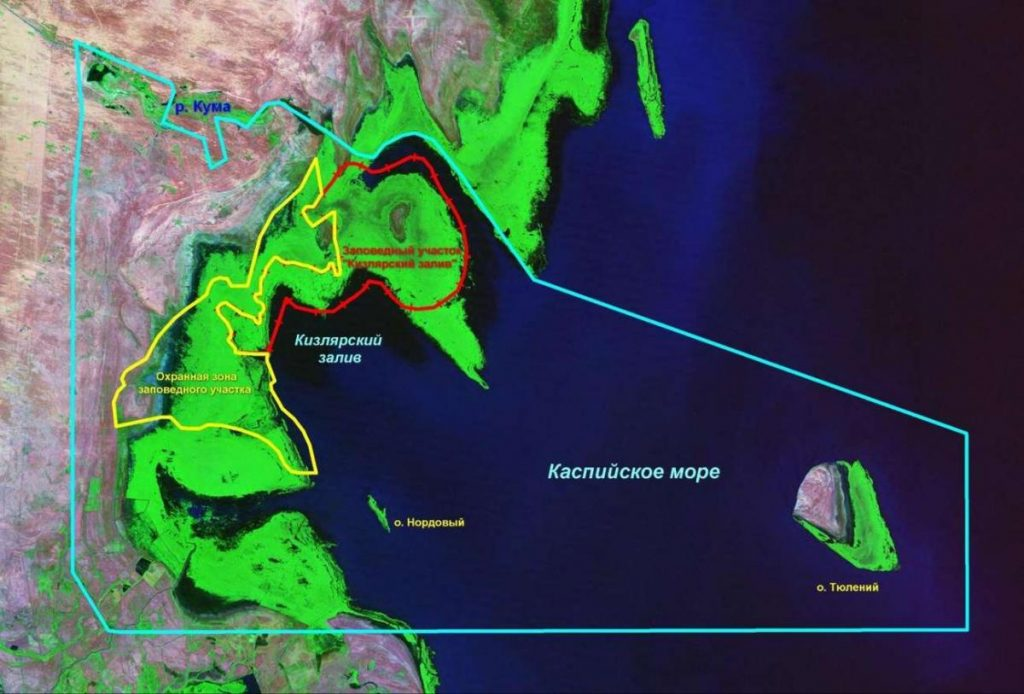 Биосферный резерват «Кизлярский залив».