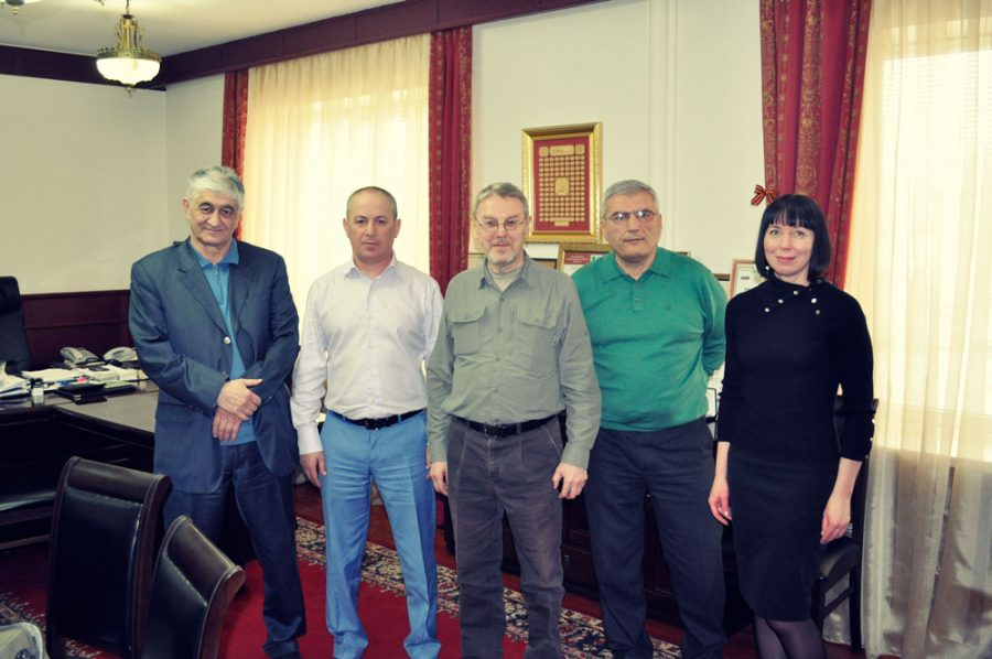 The meeting at the Ministry of Nature Resource of the Republic of Dagestan.