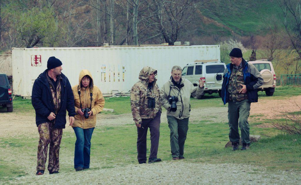 Осмотр участка «Сарыкумские барханы», Дагестанский заповедник.