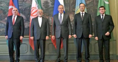 The meeting of foreign ministers of the Caspian littoral states