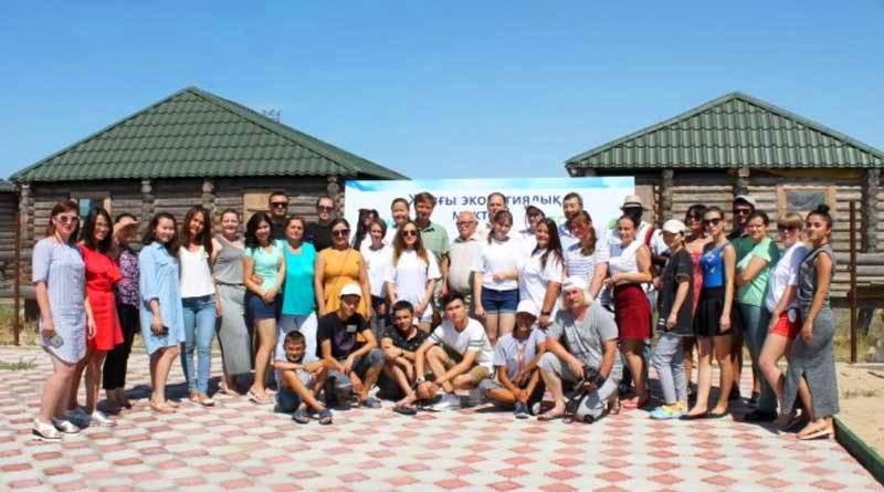 Участники 4-й Международной экологической школы, Казахстан
