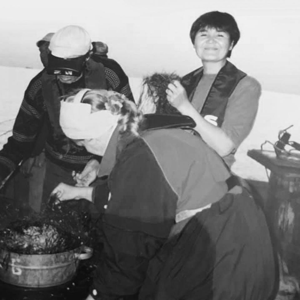 Экспедиция по экологическому мониторингу, Каспий, 1990-е гг.