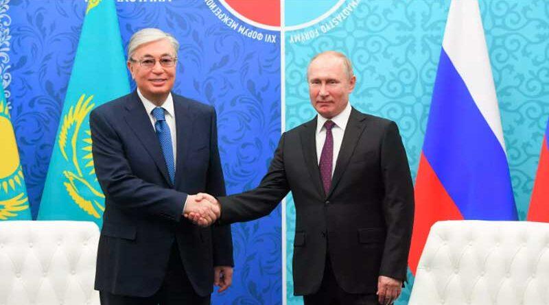 Tokayev offered Putin to save the Caspian seal